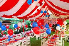Carnival Birthday Party Ideas in 2019 . Feb Sherissa S's Birthday / Carnival - Photo Gallery at Catch My Incredible Carnival Party Ideas . Carnival Party Decorations, Circus Carnival Party, Circus Theme Party, Adult Party Themes, Carnival Birthday Parties, Circus Birthday, Birthday Party Themes, Carnival Games, Creepy Carnival