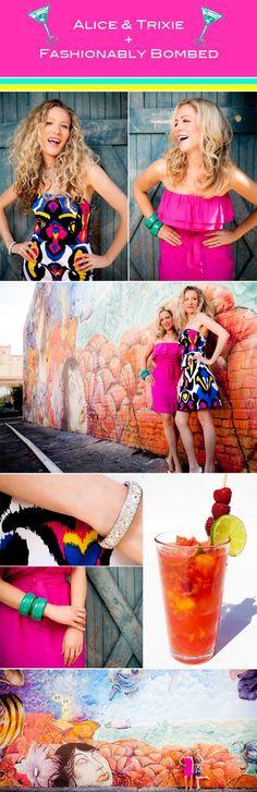 Fashionably Bombed: Alice & Trixie Photo Shoot