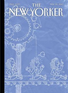 """The New Yorker - Monday, May 20, 2013 - Issue # 4498 - Vol. 89 - N° 14 - « The Innovators Issue » - Cover """"Eureka!"""" by Christoph Niemann"""