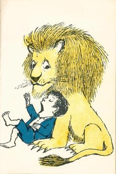 this is my favorite illustration ever. love you maurice sendak.