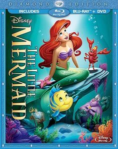 Thanks Amazon~I just added this to my Wishlist!! YAY! =) ....The Little Mermaid (Two-Disc Diamond Edition: Blu-ray / DVD in Blu-ray Packaging) Blu-ray