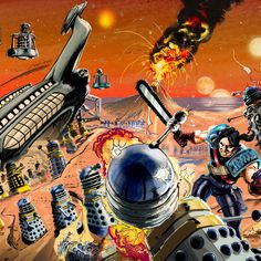 Second Doctor, Classic Sci Fi, Dalek, Cyborgs, Dr Who, What Is Like, Master Chief, Doctor Who, Empire