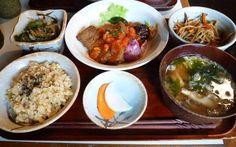 macrobiotic lunch set