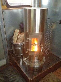 Kimberly stove,,,,, great tips on full time rving thru the winter cold months.