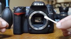 Clean Your DSLR Sensor Easily And Affordably. If done wrong, could damage camera!