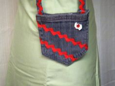 POCKET PURSE DENIM Recycled Blue Jean Grey with by APERFECTSTITCH, $6.00
