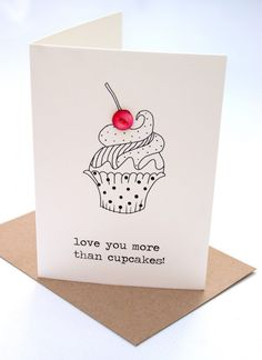 love you more than cupcakes!