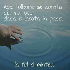 Lasa timpul sa ne vindece! Sad Words, True Words, Cool Words, Feelings And Emotions, Text Quotes, Motivational Quotes, Life Quotes, Spirituality, Wisdom