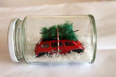 Schnelle Weihnachtsbastelei und Creadienstag - PamyLotta.blogspot.de
