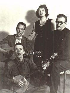 "The Weavers, a folk quartet active from the late '40s until the '60s, covered Lead Belly's ""Good Night, Irene."" The song reached #1 on the charts about a year after Lead Belly's death. Folkways artist Pete Seeger was one member of the quartet, alongside  Ronnie Gilbert, Lee Hays and Fred Hellerman."