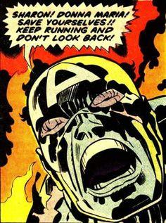 Captain America _ Jack Kirby