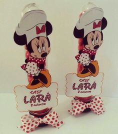 Tubete Minnie Mouse Chef