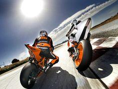 KTM superbikes
