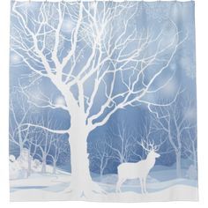 Illustration of Snow winter landscape with two deers. Merry Christmas background with snowy winter forest. Christmas wallpaper with copy space. vector art, clipart and stock vectors. Christmas Background Vector, Winter Background, Forest Background, Winter Trees, Winter Art, Forest Landscape, Winter Landscape, Winter Wonderland Wallpaper, Snow Showers