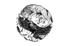 spirit animal raven and wolf - Google Search
