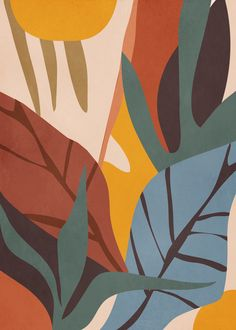 Abstract Art Paintings 762093568182771824 - Abstract Art Jungle Acrylic Tray by ThingDesign – Medium 15 x Source by chlodelanoue Print Image, Jungle Pattern, Landscape Prints, Art And Illustration, Illustrations Posters, Minimalist Art, Textures Patterns, Art Inspo, Art Projects
