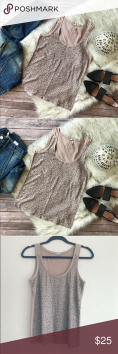 💜Gorgeous J.Crew embellished sequined top💜 💗Beautiful J.Crew embellished sequined top in size XS, please see pics with measurements 💗 J. Crew Tops Blouses
