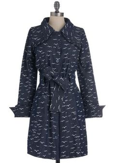 A trench coat covered in seagulls? Dont mind if I do