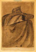 Tichý František - Muž v klobouku Painting, Art, Art Background, Painting Art, Kunst, Paintings, Performing Arts, Painted Canvas, Drawings