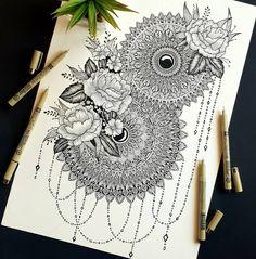 the_creative_palette _ HennaArt henna acrylicmehendi mehndi mehendi Mandala Art Therapy, Mandala Art Lesson, Mandala Artwork, Mandala Painting, Mandala Drawing, Art Drawings Beautiful, Art Drawings Sketches Simple, Mandela Art, Doodle Art Designs