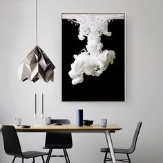"""Purchase this amazing """"The White Floe"""" Canvas Painting and we will ship the item for free. This is the perfect centerpiece for your home. Rooms Home Decor, Home Wall Decor, Picture Wall, Picture Frames, Large Scale Art, Black And White Abstract, Black White, Canvas Art Prints, Abstract Canvas"""