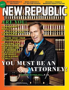 """Not sure if it can beat Businessweek's purposefully-bad """"Selling Obama"""" cover (itself inspired by a 1966 issue of The Stranger), but it's close. Bob Odenkirk on The New Republic."""
