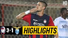 The Football Match Between Crotone vs Lazio. After a World Class Performance by Crotone, The Final Result of The Game is Crotone Lazio. Watch Football, Football Match, Italian League, Match Highlights, Baseball Cards, Sports, Hs Sports, Sport
