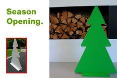 Weihnachtsdeko BAUM  ★ DIY von PAULSBECK Buchstaben, Dekoration & Geschenke auf DaWanda.com