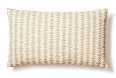 Wheat Field 12x20 Cotton Pillow, Natural One King's Lane