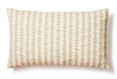 Wheat Field 12x20 Cotton Pillow, Natural One King's Lane