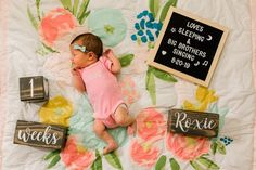 Baby Keepsake Memorabilia - Photo Prop - Personalized Gift - Set - Customizable Stains and Fonts Milestone Pictures, Baby Pictures, Newborn Quotes, Monthly Baby Photos, Baby Letters, Baby Keepsake, Baby Milestones, Baby Boy Newborn, Baby Grows