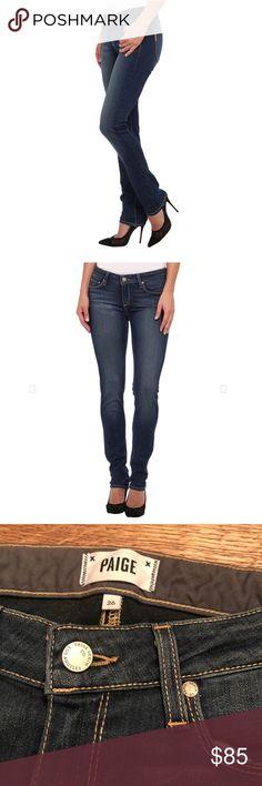 Paige skinny jeans Size 26 skyline skinny in color Easton, like new!  Bin17 PAIGE Jeans Skinny