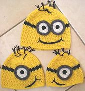 Ravelry: The Eyes Have It Beanie pattern by Jezebear Designs