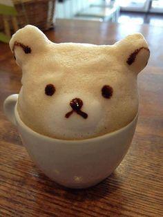 Amazing 3D Latte Art!!