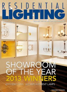 Boston's Yale Lighting & Appliance graces the cover of our August issue, representing the six Showroom of the Year Award Winners. Statement fixtures from Hinkley, Crystorama, Visual Comfort and Hubbardton Forge receive visual emphasis in Yale's store in a gallery-type setting. View the entire August digital edition here: http://editiondigital.net/publication/?i=170434