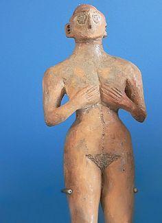 Ceramic Female figurine - Tureng Tep,e Iran - IIIB period, ca. 3500-2900 BCE