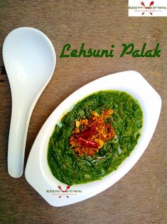 if you love garlic, this recipe of lehsuni palak is perfect for you. made with basic ingredients, palak and spinach are the main items of this recipe. Curry Recipes, Vegetarian Recipes, Cooking Recipes, Kurma Recipe, Gujarati Cuisine, Rajasthani Food, Parmesan Roasted Cauliflower, Veg Curry, Punjabi Food