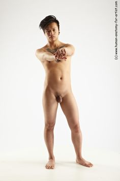 Nude male models for the artist