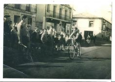 1958. Manuel Gea Street View, San, Sierra, Antique Photos, Paths, Bike, Friendship, Nature