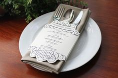 Dinner Menus | 31 Free Wedding Printables Every Bride-To-Be Should Know About