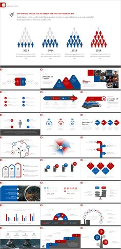 Red and blue style design, versatile charts design,It is easy to modify and be used, these icons will make your template looks more professional and individual. Infographic Powerpoint, Business Powerpoint Templates, Keynote Template, Infographics, Powerpoint Charts, Creative Infographic, Powerpoint Presentation Slides, Presentation Software, Presentation Design