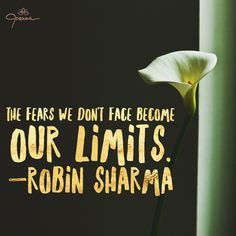 365 Days To Transform Fear Back Into Love:  DAY 294 - FACE YOUR FEARS AND ROCK PAST YOUR LIMITATIONS  #fearintolove