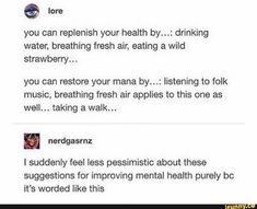 Tumblr Funny, Funny Memes, Faith In Humanity, Life Advice, Stupid Funny, Adhd, That Way, Self Help, Self Love