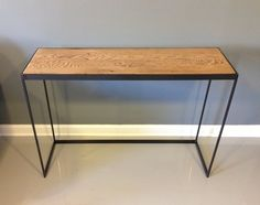 Reclaimed Wood Console Table - Free Shipping! $435