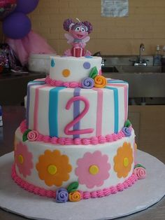Abby Cadabby Cake....I think this is the one!!