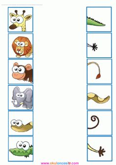Spring Counting Centers for Preschool Animal Activities, Preschool Learning Activities, Preschool Activities, Activities For Kids, Zoo Preschool, Community Helpers Preschool, English Worksheets For Kids, Kindergarten Worksheets, Kids Education