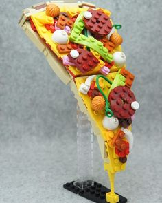 Delicious-Looking Creation From Blocks  I dont think Ive ever felt so hungry looking at Lego bricks! A Japanese Lego creator who goes by the nickname Tary has sculpted one of the most delicious-looking fastfood made entirely from Lego bricks.  Build and design by Tary Original post by @legoinstgrm  #legofriends #AFOL #lego #legostagram #bricks #legoworld #toyphotography #toystagram #legophotography #legoaddict #minifigures #legominifigures #bricknetwork #legominifigs #instagram #legoinstgrm…