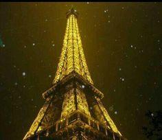 Torre eiffel iluminada oh lala!