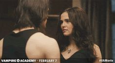 With Lissa in trouble, Rose rushes to Dimitri, but these two have other things on their mind... Get more Vampire Academy GIFS at va-movie.com