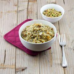Pistachio and Fig Couscous Recipe | Lemon & Olives | Greek Food & Culture Blog